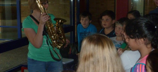 Trompetenklänge in der Schule