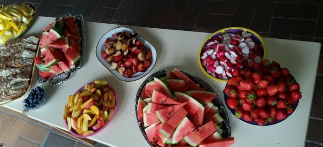 Gesundes Pausenfrühstück an der Brögerschule