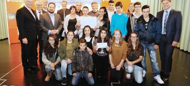 Jugend-Kultur-Landschaftspreis erhalten