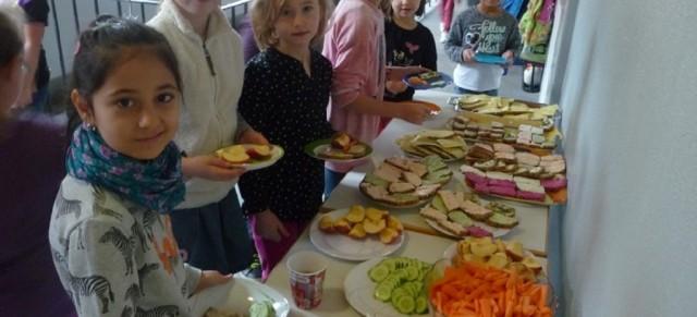 Gesundes Pausenvesper an der Brögerschule