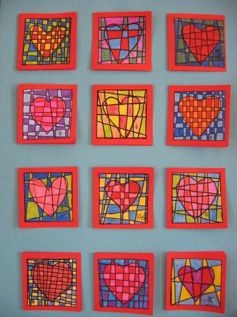 Klasse 4a gestaltet muttertag inchies grundschule for Muttertagsgeschenk grundschule