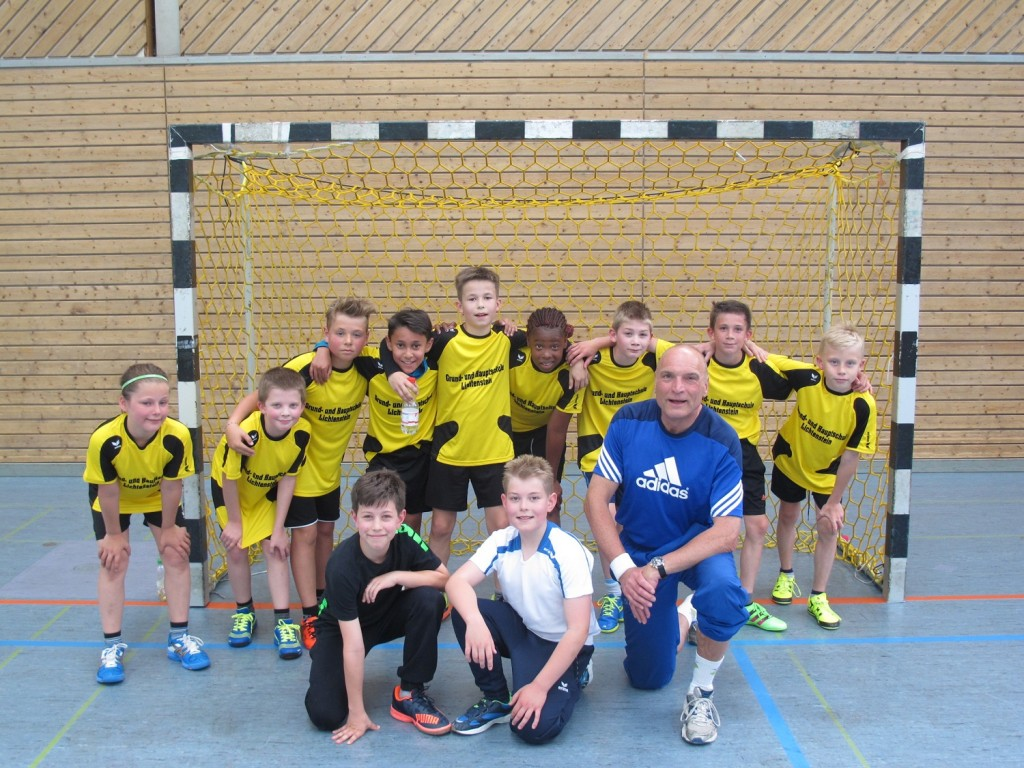 Handballer der Uhlandschule Kreismeister