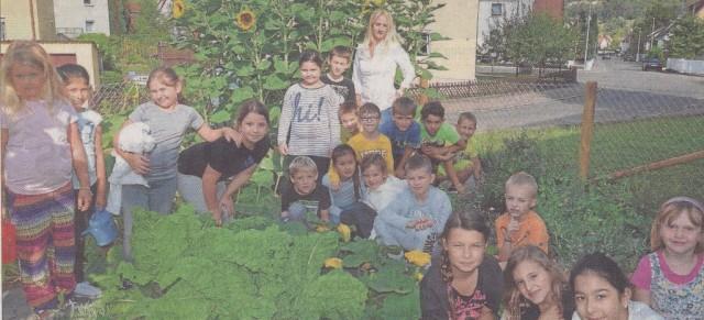 Schulgarten  –  Bericht Gea v. 17.09.16