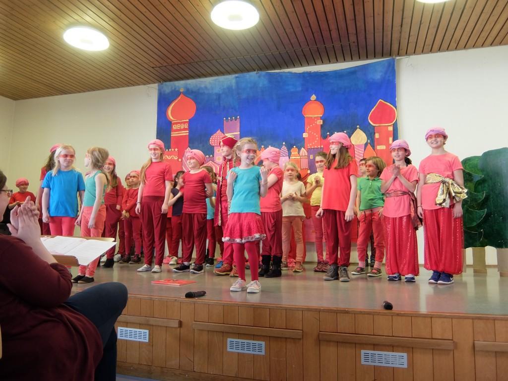 Musicalaufführung beim ökumenischen Seniorennachmittag