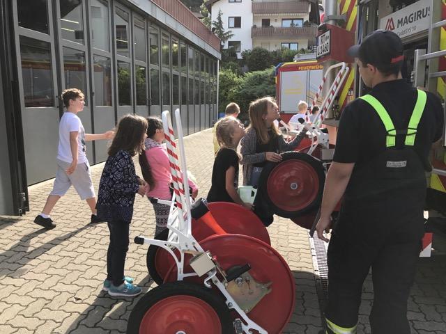 Zu Besuch bei der Freiwilligen Feuerwehr Lichtenstein