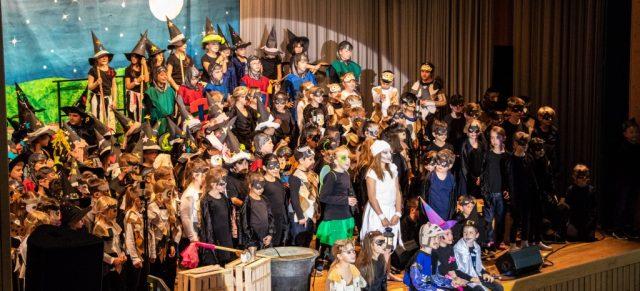 Musicalaufführung zum Schuljubiläum