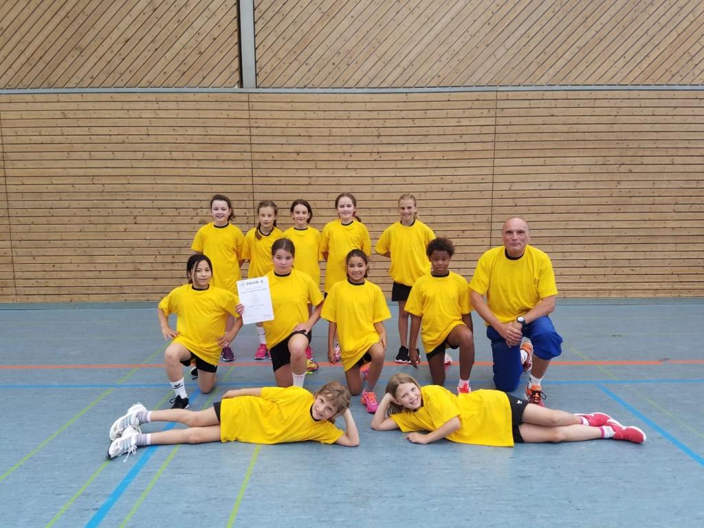 Kreismeister im Handball – toller Erfolg für unsere Handballerinnen