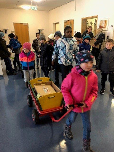 Leseförderung an der Grundschule Lichtenstein – Bücher gehen auf Wanderschaft